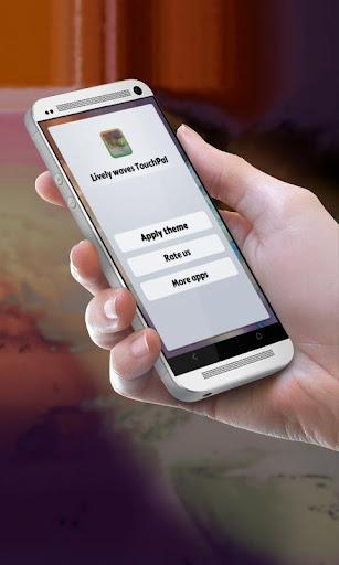 活発な波 TouchPal