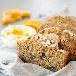 Orange Blueberry Breakfast Bread Recipe