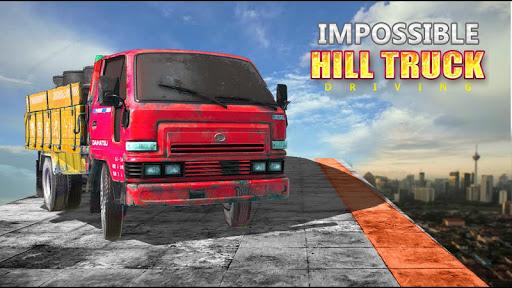 Télécharger Gratuit Impossible Hill Truck Driving 2019 mod apk screenshots 2