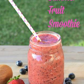 Summer Fruit Smoothie.