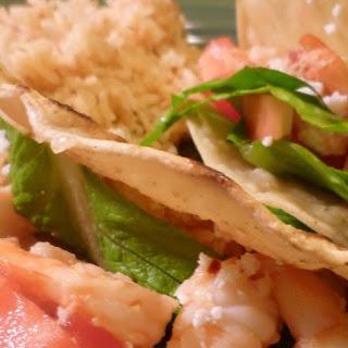 Mexican Scampi Tacos