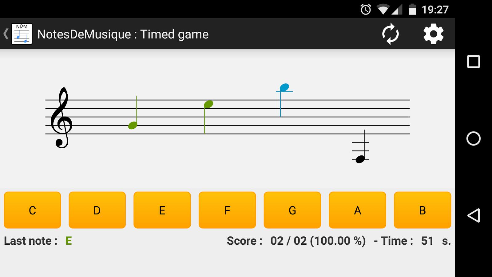 Notesdemusique learning to read musical notation android apps notesdemusique learning to read musical notation screenshot buycottarizona
