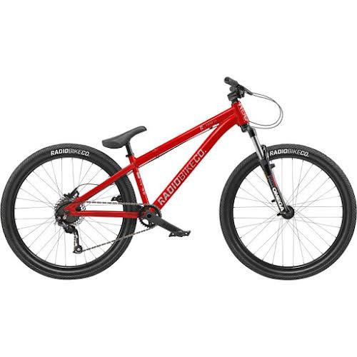 "Radio Fiend 26"" BMX Bike - 22.6"" TT, Matte Metallic Red"