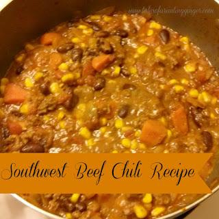 Southwest Beef Chili