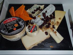 Photo: Plateau de fromages affinés