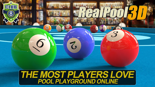 Real Pool 3D - 2019 Hot 8 Ball And Snooker Game apktreat screenshots 1