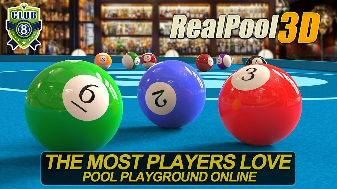 Real Pool 3D - 2019 Hot 8 Ball And Snooker Game Android App Screenshot