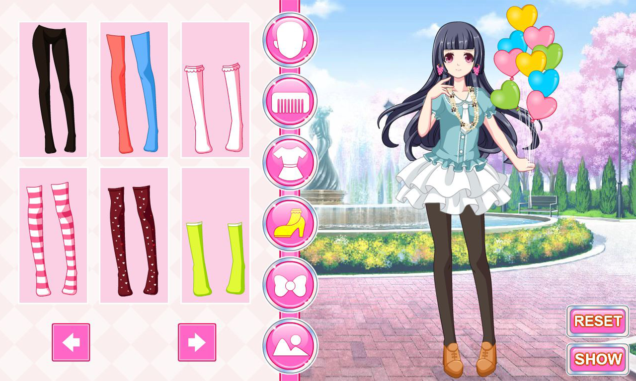 Anime Manga Dress Up Android Apps On Google Play