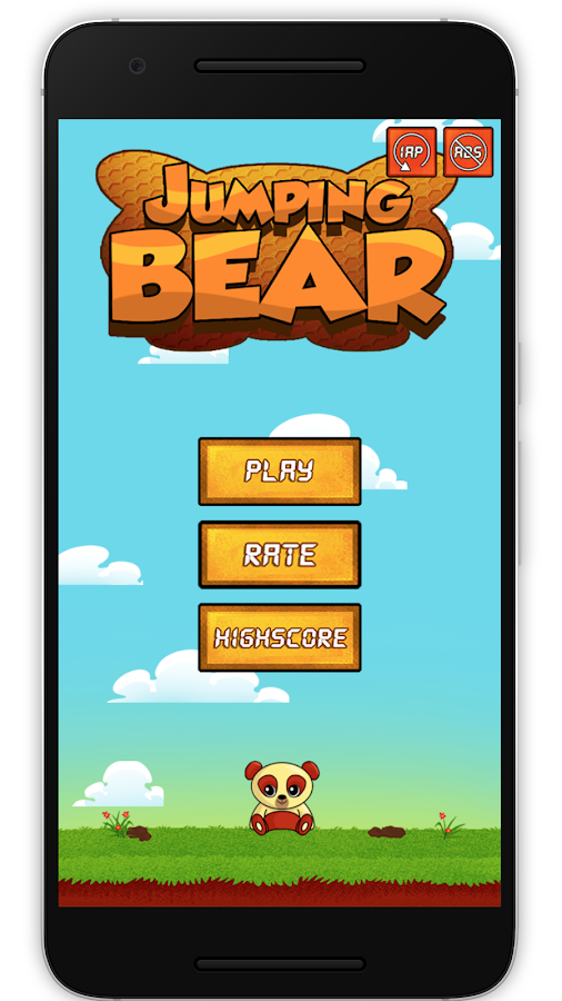 Jumping Bear- screenshot