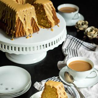 Earl Grey Bundt Cake with Milk and Honey Glaze