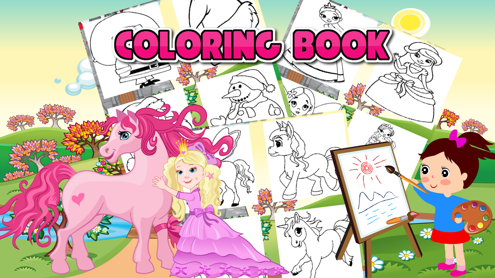 Coloring book for me full - Coloring Book For Me Screenshot
