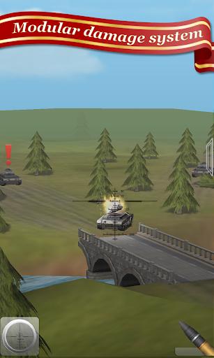 artillery guns arena sniper defend & destroy tanks screenshot 2