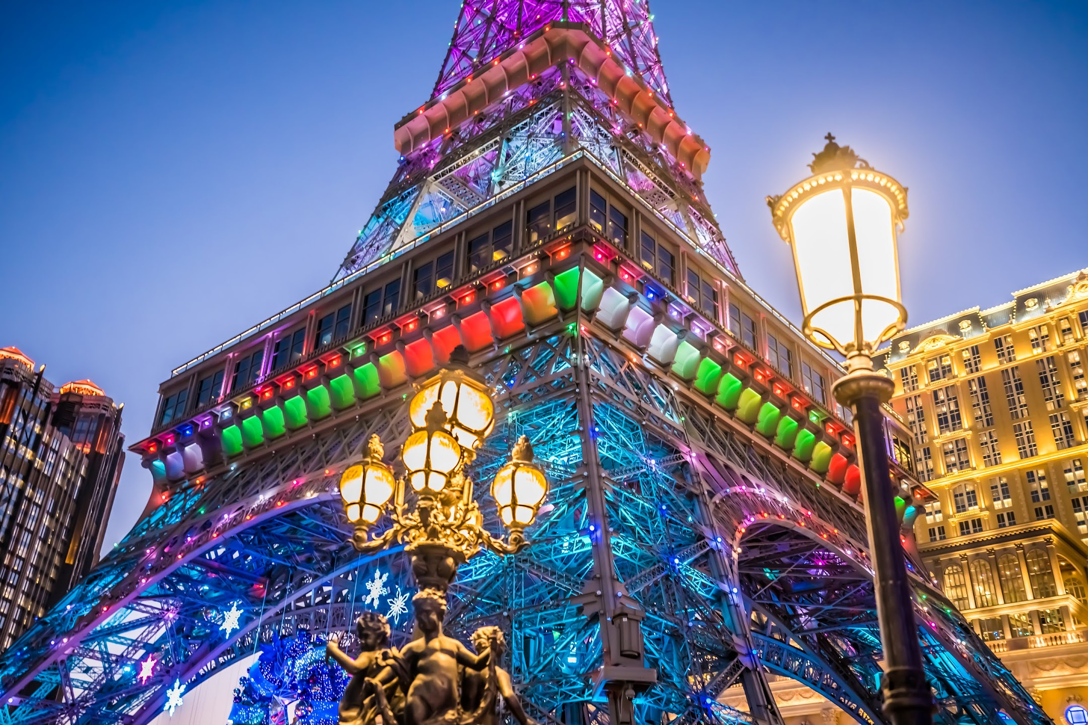 The Parisian Macao Eiffel Tower Evening2