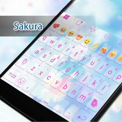 Sakura Eva Keyboard -Diy Gifs 遊戲 App LOGO-硬是要APP