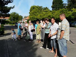 Photo: Onder toeziend oog van de gemeente ...