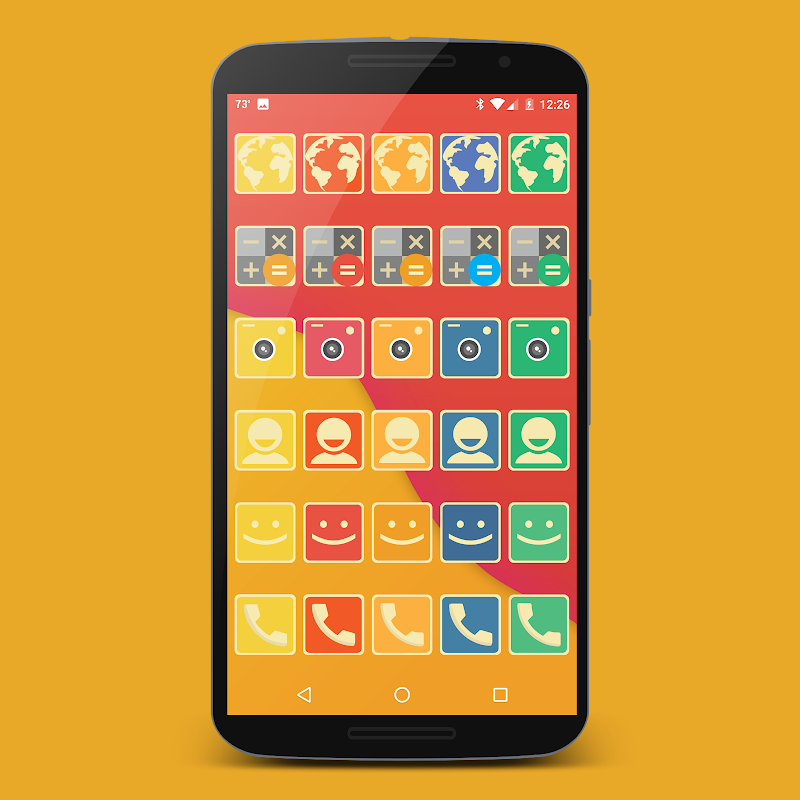 Retrofit Icon Pack Screenshot 12