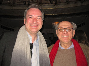 Photo: WIENER STAATSOPER (25.3.2015). Uwe Eric Laufenberg und Gerd Leo Kuck (ehemals Intendant in ZürichFoto Andrea Matzker