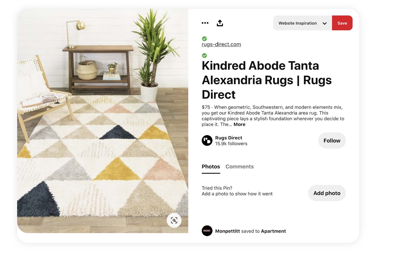 Rich Product Pin Example Pinterest