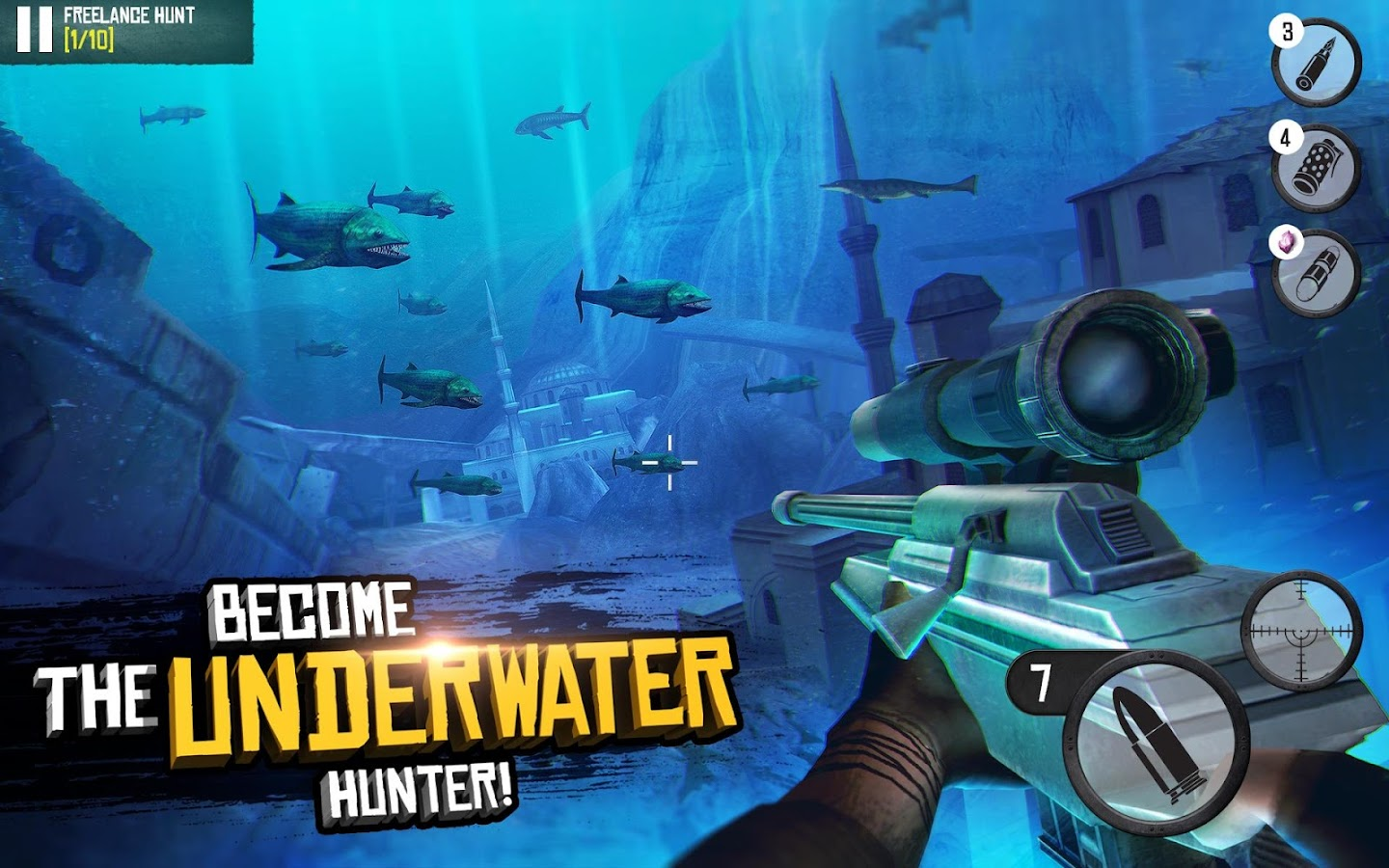 Best Sniper: Shooting Hunter 3D- screenshot