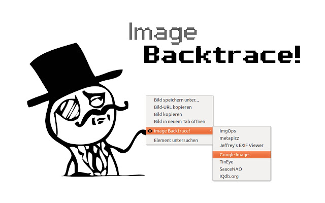Image Backtrace!
