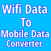 Wifi Data To Mobile Data Converter(Simulator)
