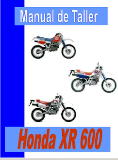 honda xr 600 manual-taller-servicio-despiece