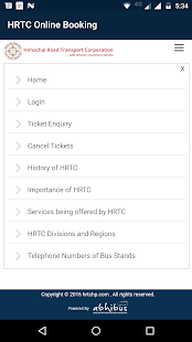 HRTC Online Booking Official- screenshot thumbnail