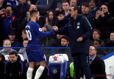 Hazard a sauvé un point pour Chelsea, mais Sarri se veut tout de même critique