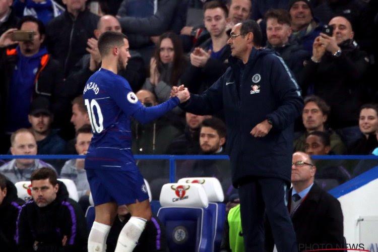 Pas de Hazard à Cardiff, Sarri s'explique