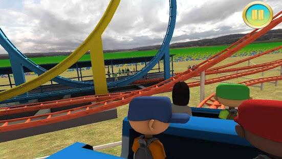 5 Real Roller Coaster Simulator App screenshot