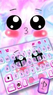 Emoticon Kiss Emojis Keyboard Theme 1