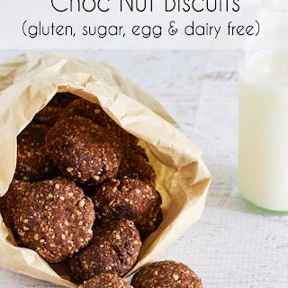 Choc Nut Biscuits (gluten, Sugar, Egg & Dairy Free)