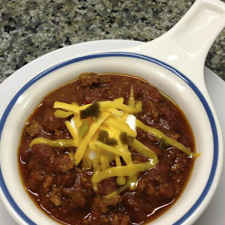 Ultimate Chili with Meat and Beans