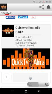 Quick Tv Africa Radio - náhled