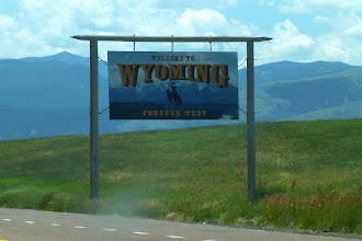 Photo: Our next state: Wyoming! The least populous state, we found plenty to see and do here.
