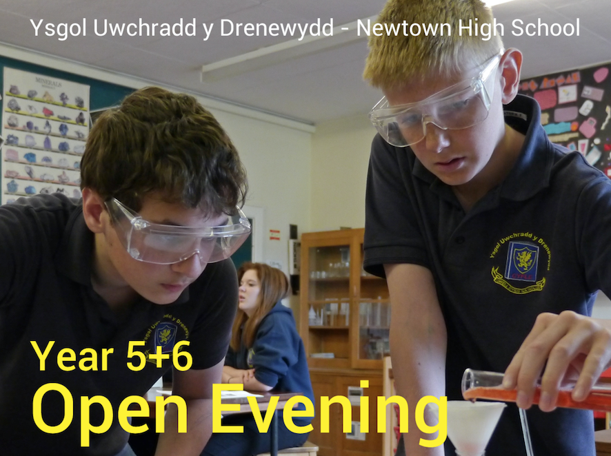 Open evening at Newtown High School