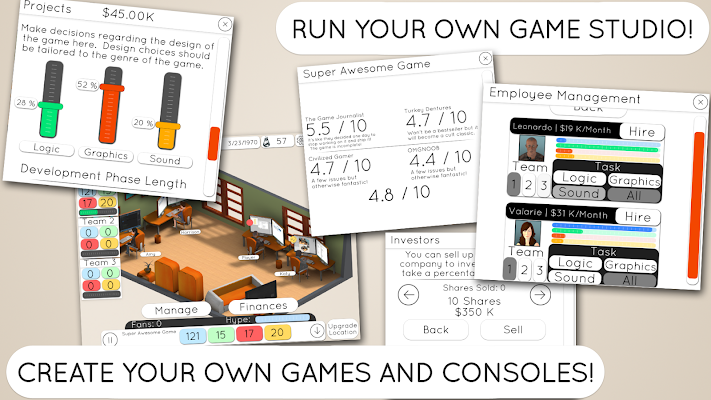 Game Studio Tycoon 2- screenshot