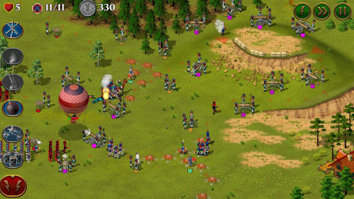 Code Triche 1812. Napoleon Wars TD Tower Defense strategy game APK MOD (Astuce) screenshots 5