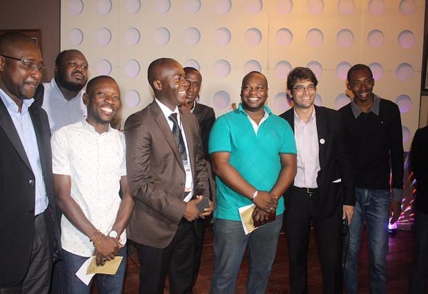 Les deux vainqueurs du concours de la FrenchTech Abidjan