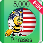Learn American English - 5000 Phrases
