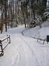 Photo: C4010006 Krynica - juz kwiecien a tu snieg