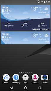 Sony Xperia Weather App 8