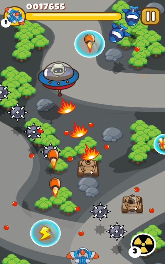 Sky Raiders - Battle Wars- screenshot