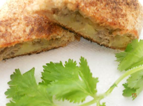 Panfried Potato And Meat Cutlet/ Croquette/ Tikki Recipe