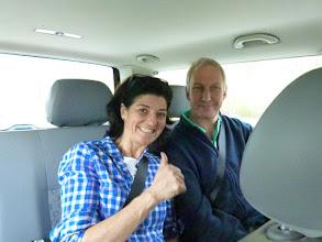 Photo: Elmar und Evi fahren mit....