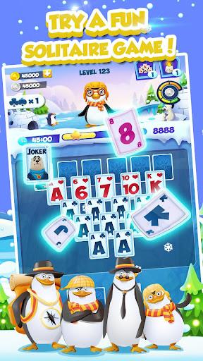 Code Triche Solitaire Match Penguin Adventure APK MOD screenshots 1