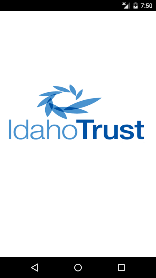 Idaho Trust Mobile Banking- screenshot