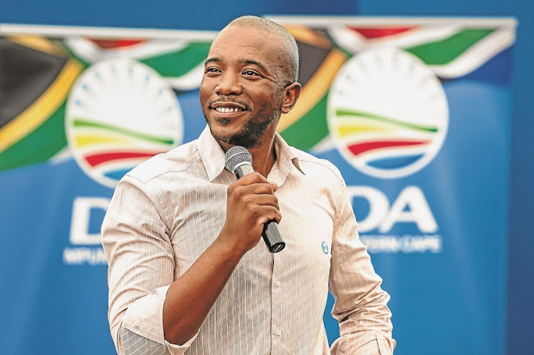 DA leader Mmusi Maimane. Picture: MARK WEST/THE HERALD