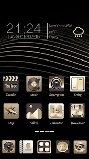 Honourable Go Launcher Theme- screenshot thumbnail