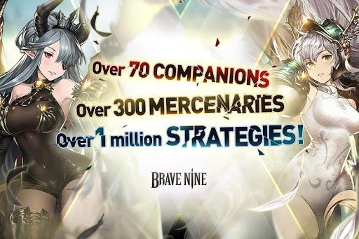Brave Nine - Tactical RPG 1.62.11 screenshots 1